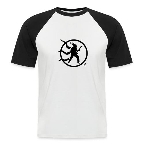 rock guitar v10 - T-shirt baseball manches courtes Homme