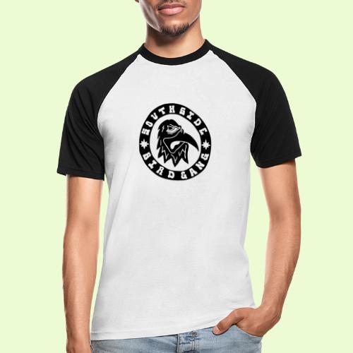 BLACK EAGLE LOGO - Miesten lyhythihainen baseballpaita