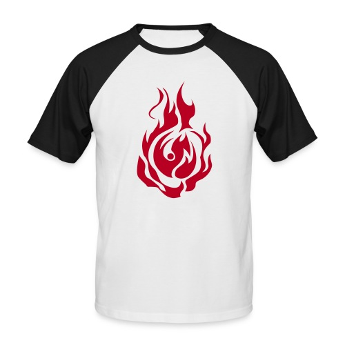 feu - T-shirt baseball manches courtes Homme
