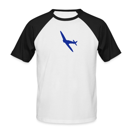 ukflagsmlWhite - Men's Baseball T-Shirt
