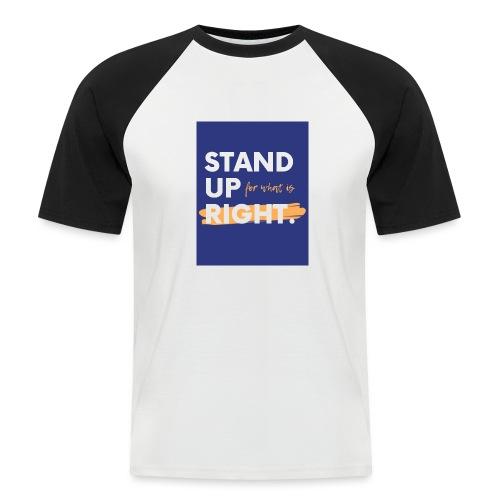 03723A0F FC04 4886 ACEC BB0A8F7400D9 - Men's Baseball T-Shirt