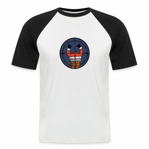 père noël - T-shirt baseball manches courtes Homme