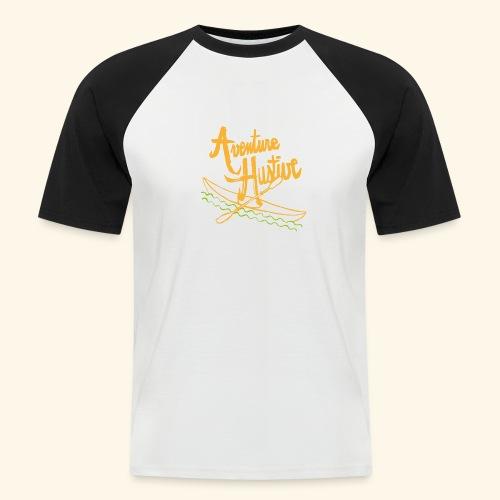 LogoTypo Kayak 04 - T-shirt baseball manches courtes Homme