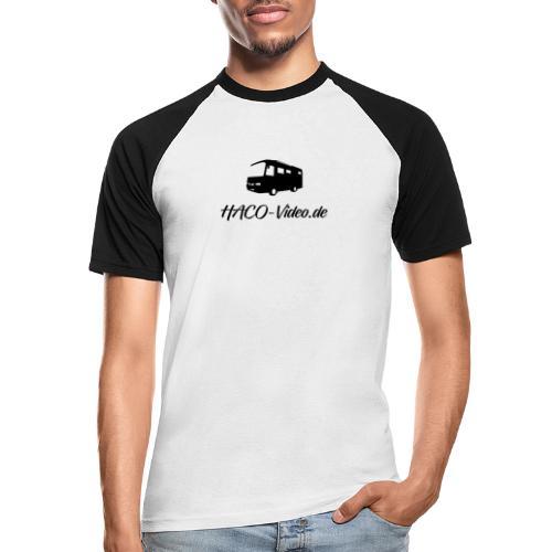 Haco-Video Logo - Männer Baseball-T-Shirt