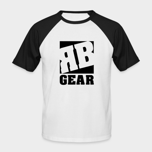 RUDEBWOY GEAR LOGO - Männer Baseball-T-Shirt