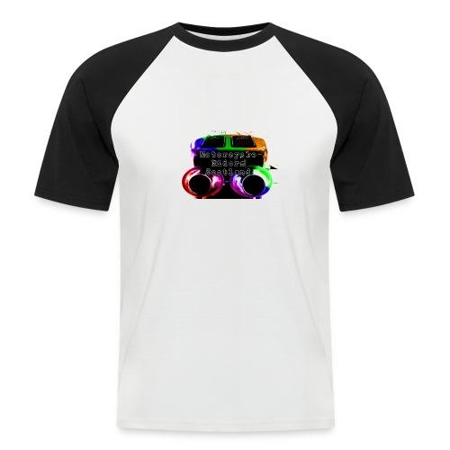 MCRS Twin Pipes - Men's Baseball T-Shirt