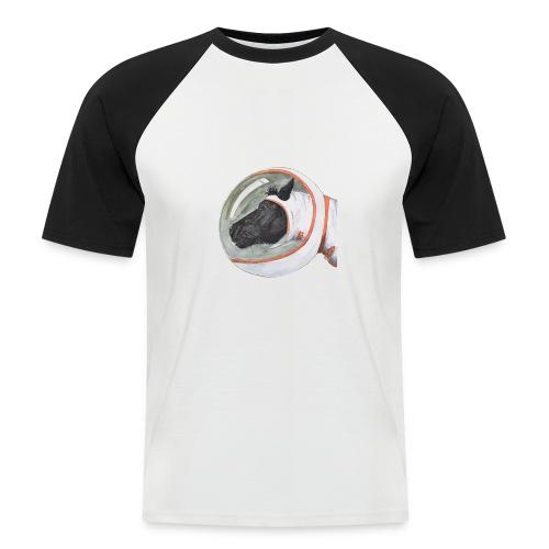 spacepony lena - Mannen baseballshirt korte mouw