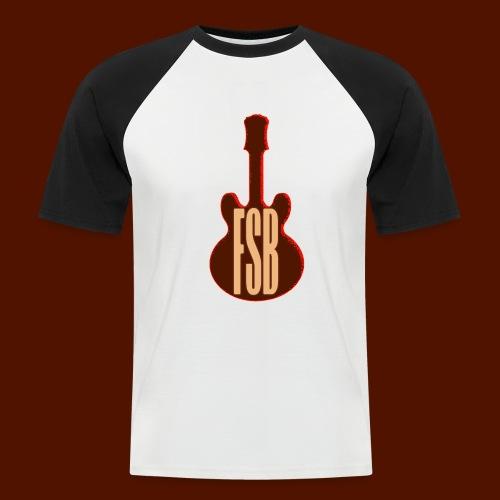 FSB Guitar Logo - Men's Baseball T-Shirt
