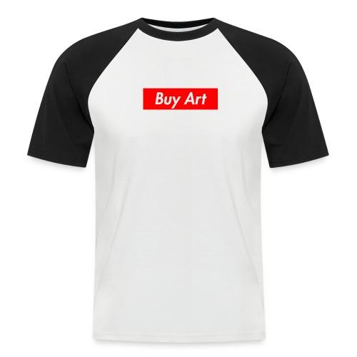 Buy Art Not Drugs - Miesten lyhythihainen baseballpaita
