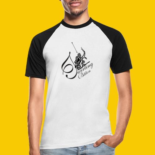 twirling b 2 - T-shirt baseball manches courtes Homme