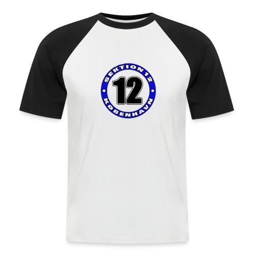 Udklip - Kortærmet herre-baseballshirt