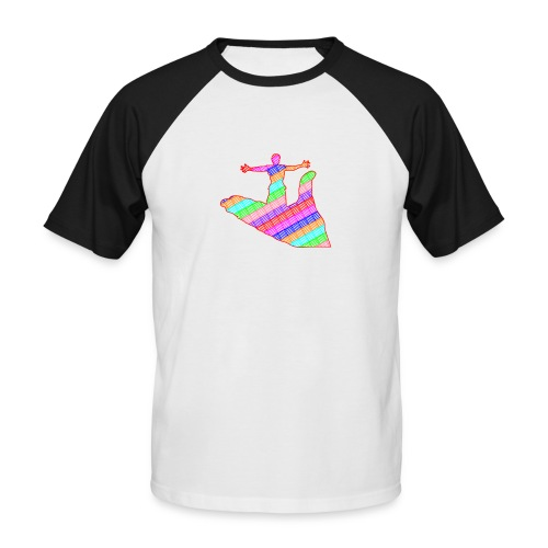 main - T-shirt baseball manches courtes Homme