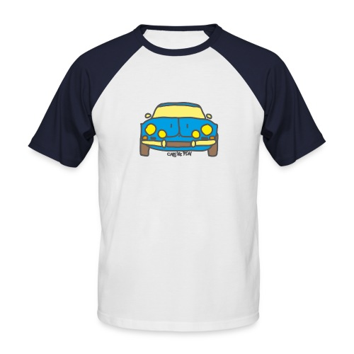 Voiture ancienne mythique française - T-shirt baseball manches courtes Homme
