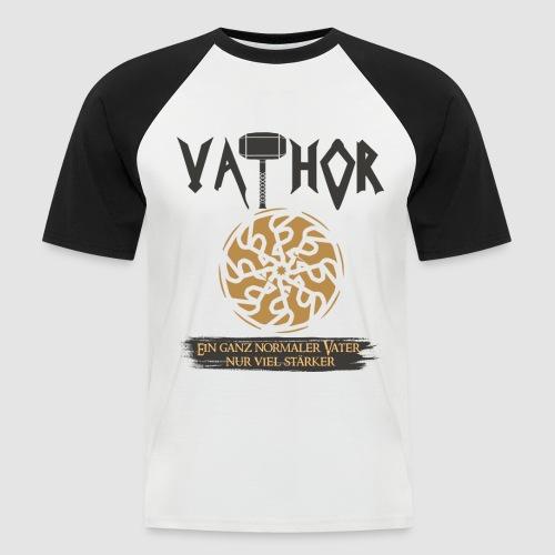 Vathor Vater Vatertag Geschenkidee - Männer Baseball-T-Shirt