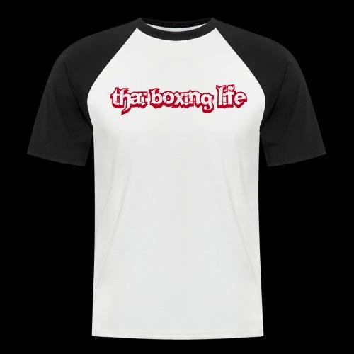 MTS92 THAI BOXING LIFE - T-shirt baseball manches courtes Homme