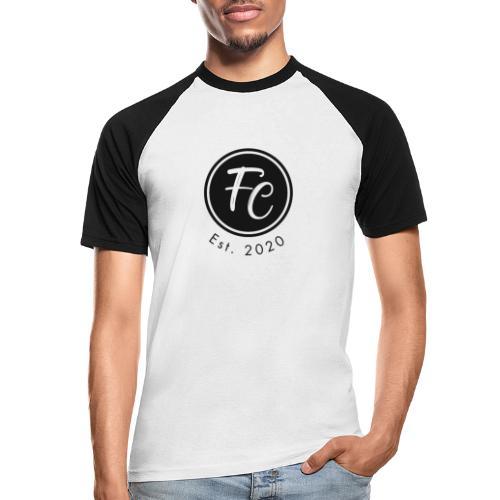 California Logo Schwarz - Männer Baseball-T-Shirt