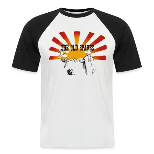 PickTshirt - Kortärmad basebolltröja herr