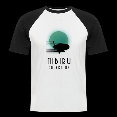 NibiruLogo - Camiseta béisbol manga corta hombre