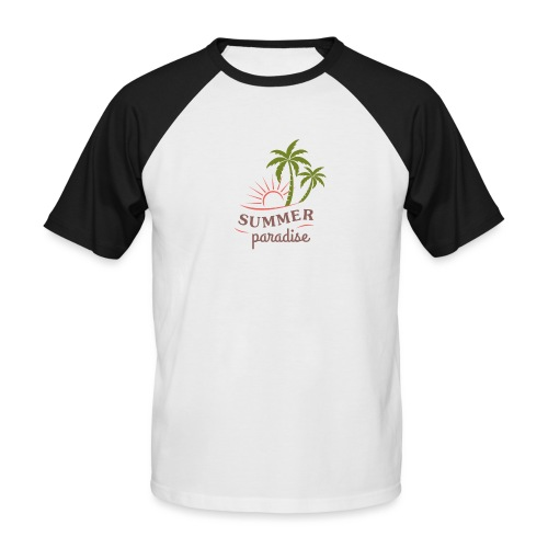 Summer paradise - Men's Baseball T-Shirt