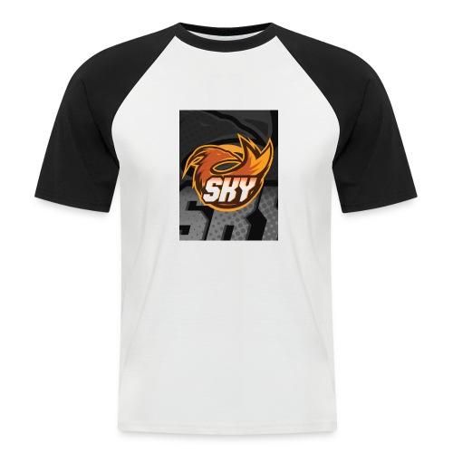 skygaming - Kortærmet herre-baseballshirt
