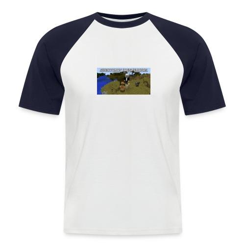 minecraft - Men's Baseball T-Shirt