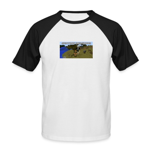 minecraft - Men's Baseball T-Shirt