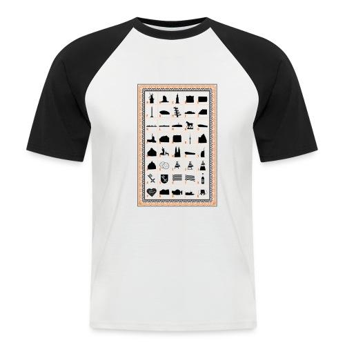 Baukasten - Männer Baseball-T-Shirt