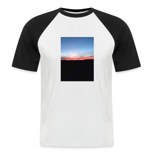 late night cycle - Men's Baseball T-Shirt