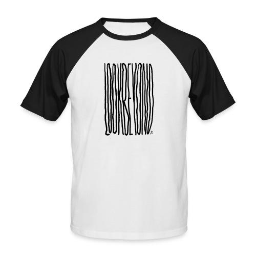 Look Beyond - Kortærmet herre-baseballshirt