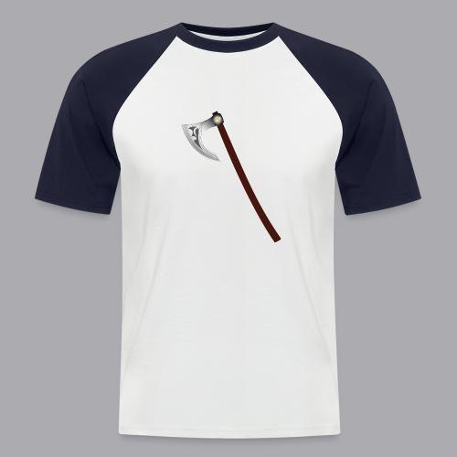Wikinger Beil - Männer Baseball-T-Shirt