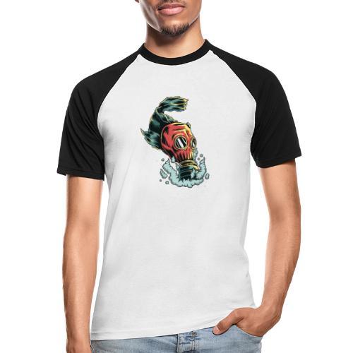 toxique - T-shirt baseball manches courtes Homme