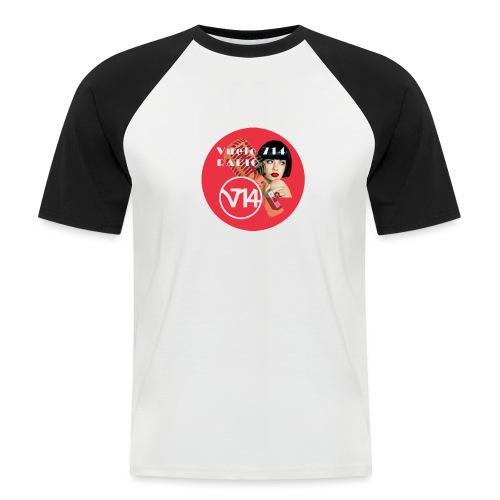 Logo pin up circle 1080x1080 - Camiseta béisbol manga corta hombre
