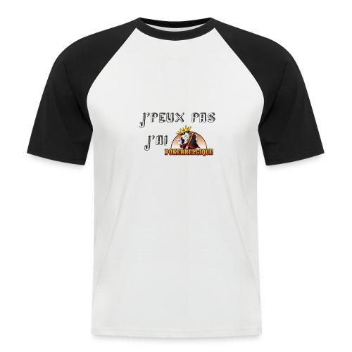 J'peux pas j'ai PB - T-shirt baseball manches courtes Homme