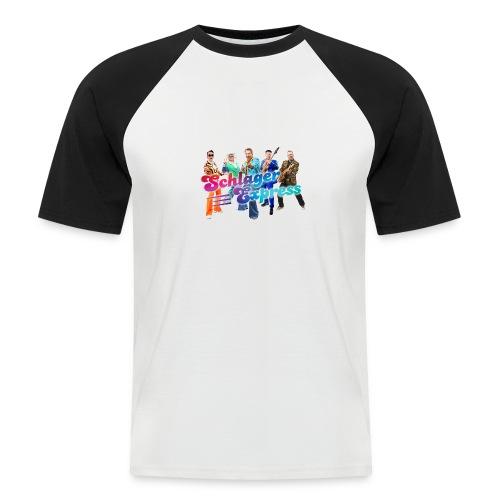 SchlagerExpress Kollektion 2021 - Männer Baseball-T-Shirt