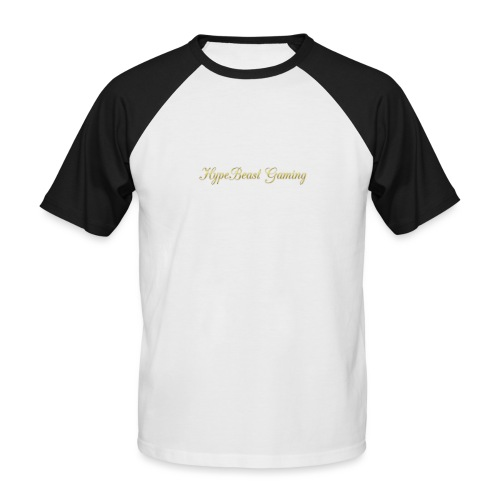 HBG Cool Handwriting - Men's Baseball T-Shirt