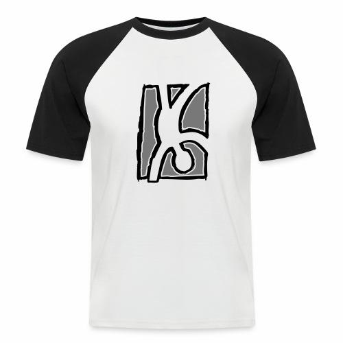 Capoeira: Hand stand - Men's Baseball T-Shirt