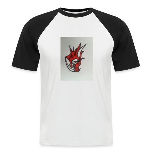 drago - Maglia da baseball a manica corta da uomo