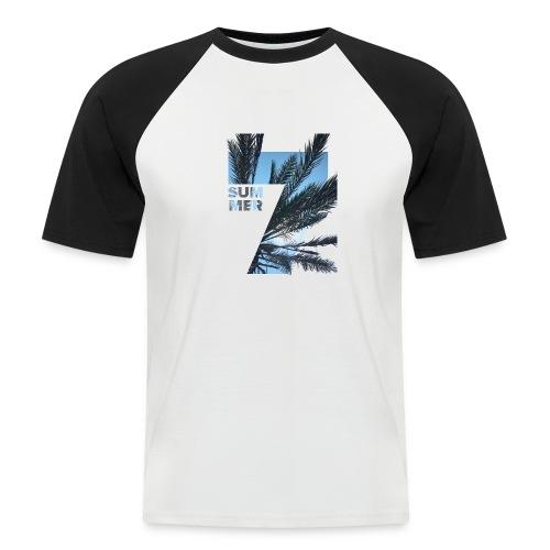 Summertime - Mannen baseballshirt korte mouw
