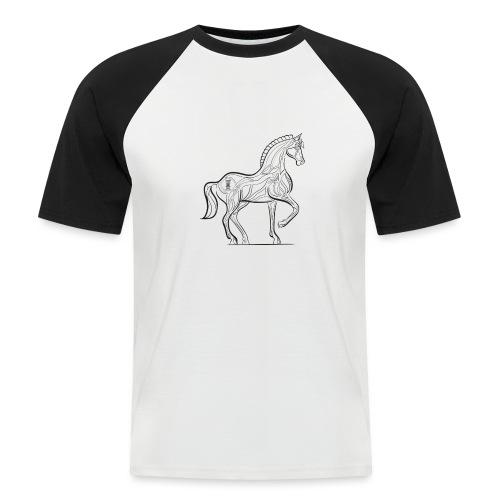 Equus Pferd - Männer Baseball-T-Shirt