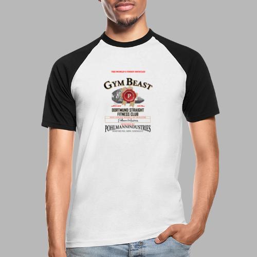 GYM BEAST - Männer Baseball-T-Shirt