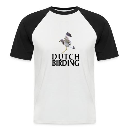 Grijskopkievit - 2019 - Mannen baseballshirt korte mouw