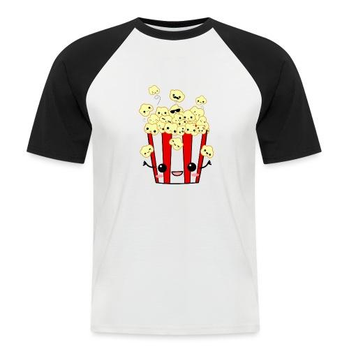 PopCorn - Camiseta béisbol manga corta hombre