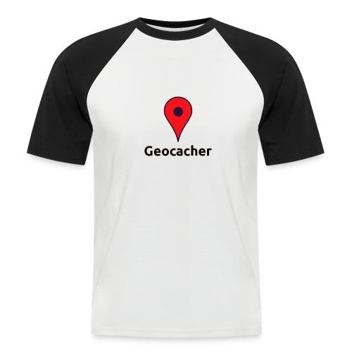 Geocacher - Männer Baseball-T-Shirt