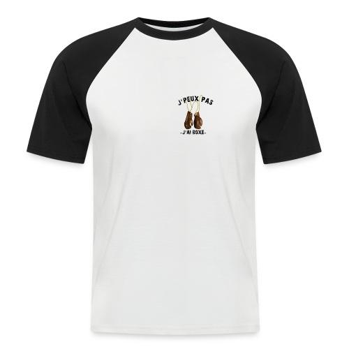 J'peux pas j'ai boxe ! - T-shirt baseball manches courtes Homme