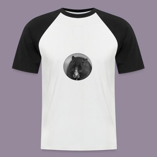 Rennmaus Ylvie - Männer Baseball-T-Shirt