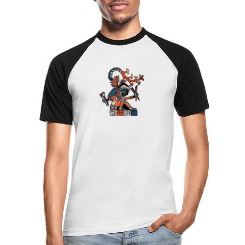 MAESTRO MEZCALERO PREHISPÁNICO - Camiseta béisbol manga corta hombre
