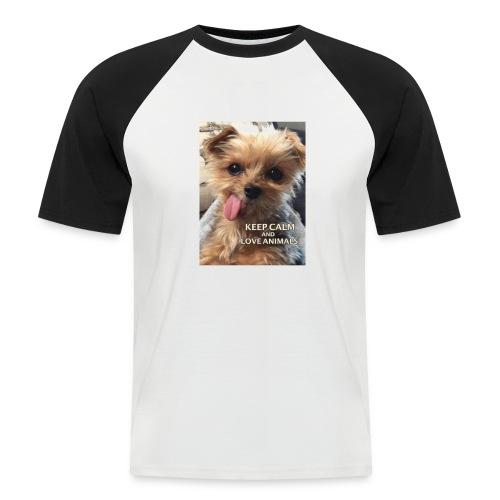 Dog - Männer Baseball-T-Shirt