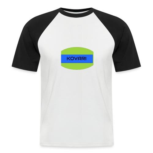 Kovari Logo - Miesten lyhythihainen baseballpaita