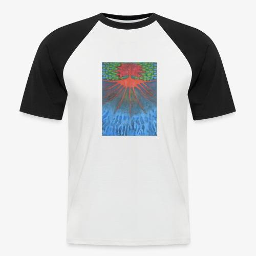 Drzewo Źycia - Koszulka bejsbolowa męska