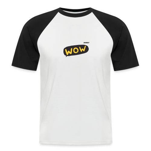 WoW Shirt - Men's Baseball T-Shirt